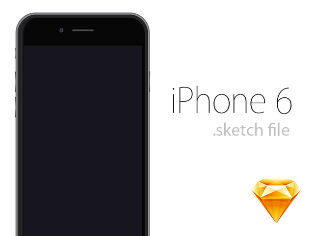 Printable Iphone 6 Mockup Iphone 6 Mockup – Sketch