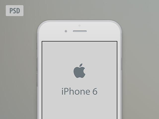 Printable Iphone 6 Mockup Semi-flat Iphone 6 Mockup