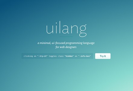 uilang - User interface components