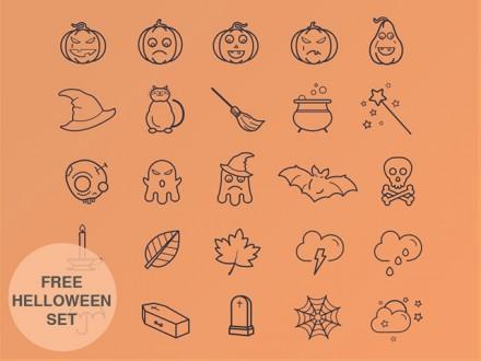 25 free Halloween icons