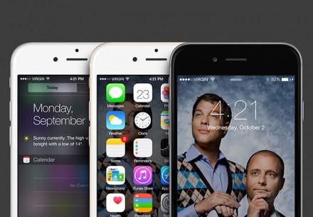 iOS8 GUI - Free PSD