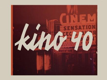 Kino 40 free font