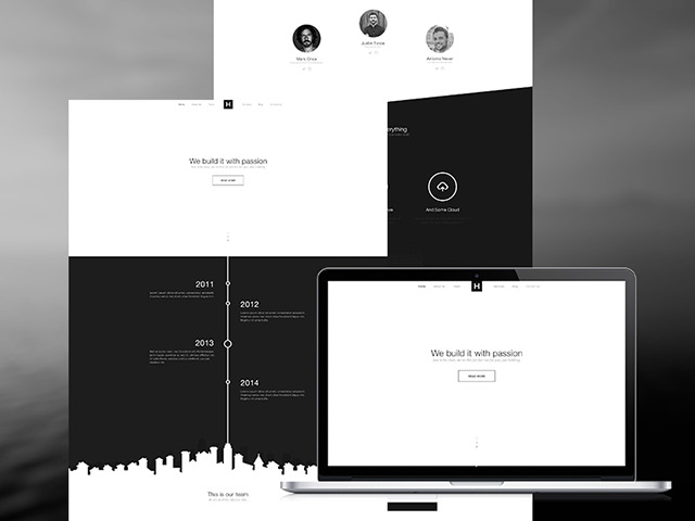 http://freebiesbug.com/wp-content/uploads/2015/01/bw-website-template.jpg
