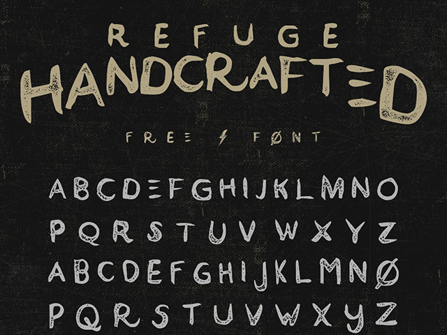 Refuge Free Font Download