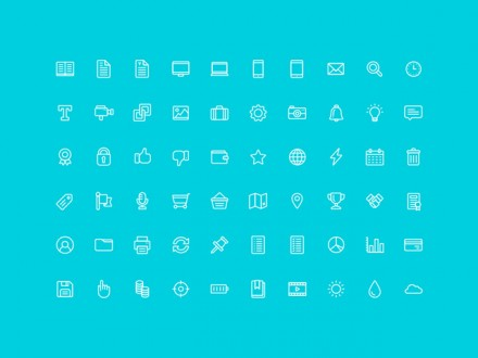 60 free outline icons - AI