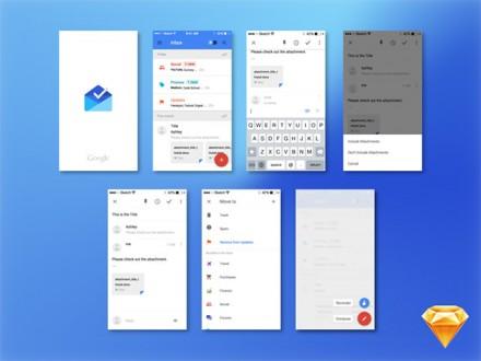 Google Inbox UI