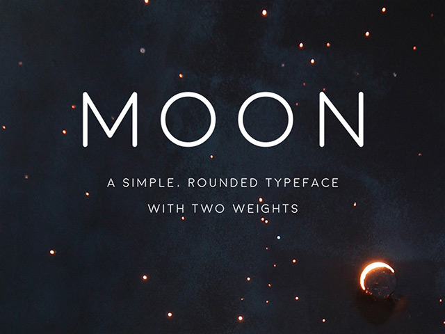 Moon Free Font Download