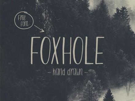 Foxhole free font