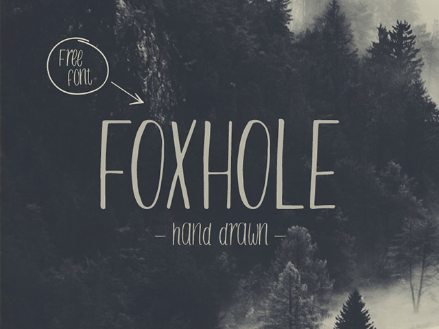 http://freebiesbug.com/wp-content/uploads/2015/07/foxhole-font-free-typeface.jpg