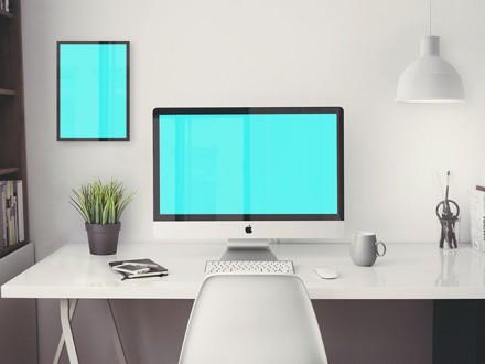 iMac 5K Retina mockup