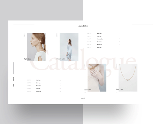 Agata Bielen - PSD template: Preview 02
